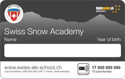 Swiss Snow Academy card