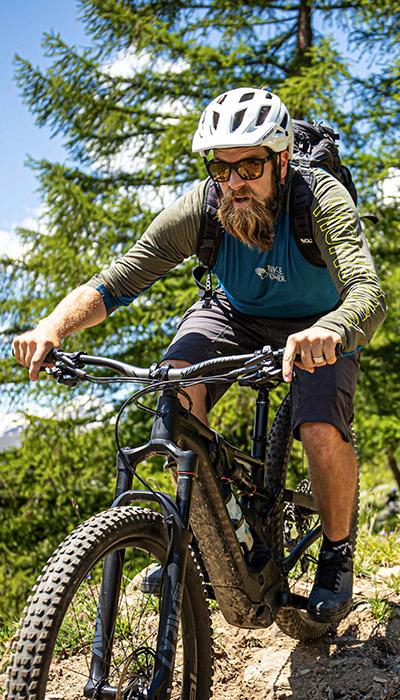 Biking at the Swiss Ski Schools